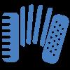 Иконка народные-клавишные ЦВЕТ